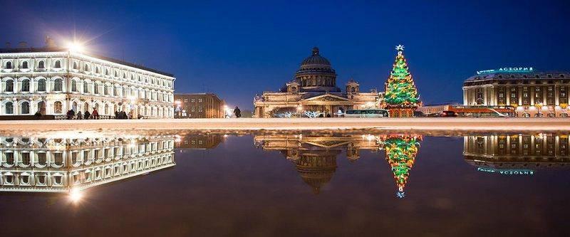 Новый год в Санкт-Петербурге 2017
